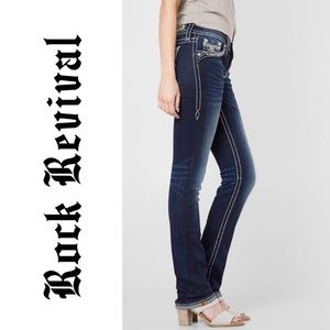 Rock Revival • Tansy Mid-Rise Curvy Boot Jean